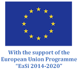 With the support of the European Union Programme EaSi 2014-2020
